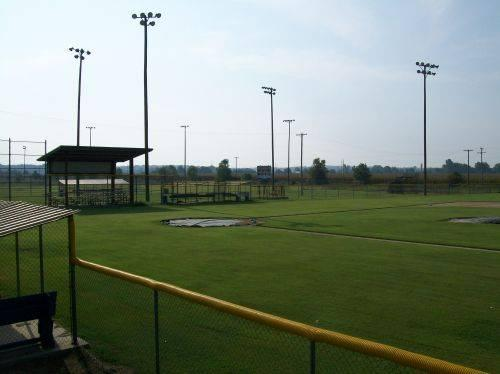 Wynne Sports Complex softball field